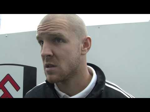 Senderos' West Brom Reaction