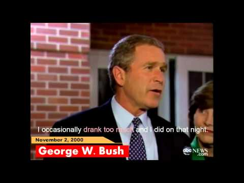 George W. Bush explains his DUI arrest