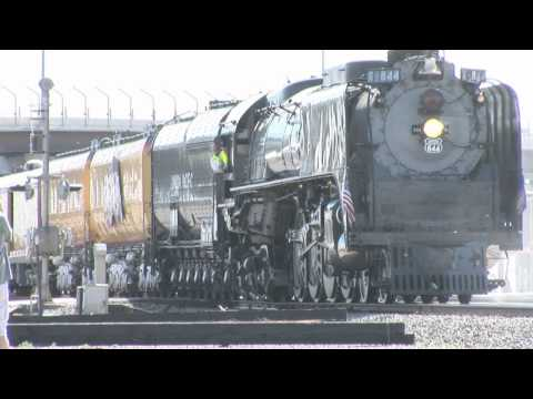 Steam Train Union Pacific 844