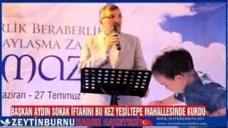 Zeytinburnu Belediyesi Sokak İftarı Yeşiltepe Mahallesindeydi