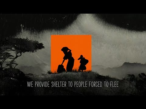 We provide shelter to people forced to flee