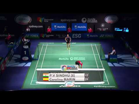 2014 THE STAR AUSTRALIAN BADMINTON OPEN - QF - WS - P.V. Sindhu [8] (IND) VS Carolina Marin (SPA)