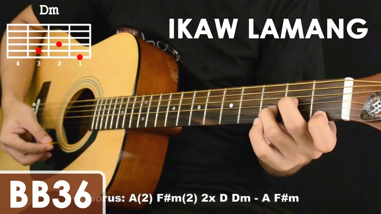 Ikaw Lamang - Silent Sanctuary Guitar Tutorial (cello mute effect, chords, strumming) - YouTube