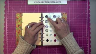 CALC Arts & Crafts Supplies Inventory Binder