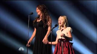 Jackie Evancho   Sarah Brightman Time To Say Goodbye On America's Got Talent Finale - Youtube.mp