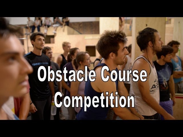 Obstacle Course Competition Runs (Amos Rendao) - Parkour Randori