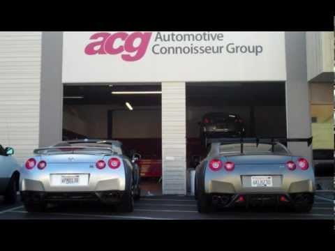 Nissan GTR R35 - Akrapovic Slip-On Resonated & Non-resonated midpipes