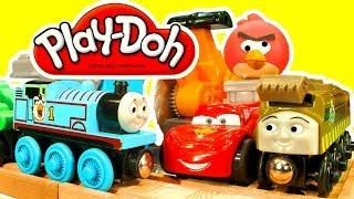 Play Doh Saw Mill Angry Birds Thomas The Tank Wooden