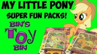 My Little Pony SUPER Trading Cards Fun Packs From