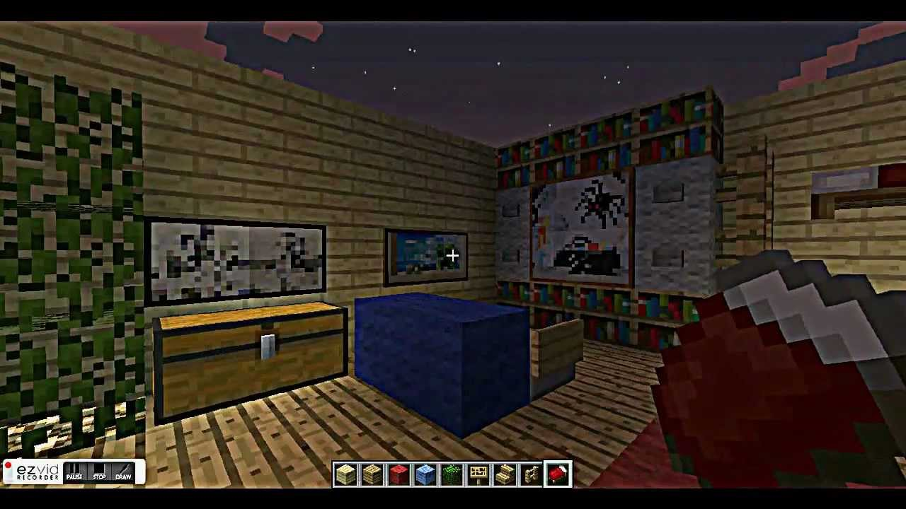 Cool minecraft bedroom designs 28 images living room for Cool minecraft interior designs