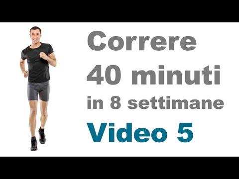 Allenamento Corsa - Correre Correttamente per 12 Minuti (Video 5)