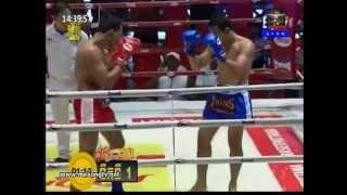 Khmer Boxing Vorn Viva vs Muay Thai (77kg) 12 April 2014