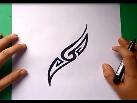 Como dibujar un tribal paso a paso 34 how to draw one tribal 34 youtube - Dibujos tribales para tatuar ...