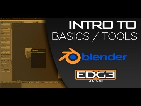 Blender for Beginners: Introduction to the basic tools and tips tutorial by ZoyncTV