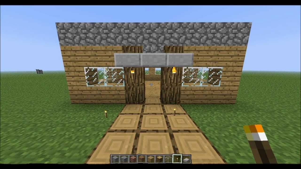 how to make an easy house in minecraft