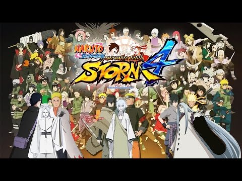 Naruto Shippuden Ultimate Ninja Storm 4 All Characters (165 Playable) Wishlist