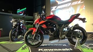 Kawasaki Z250 SL Media Introduction, E-City Hotel