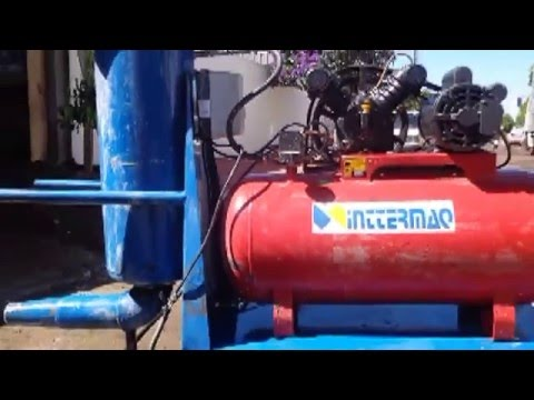 Bombar - Bomba de Concreto com Ar Comprimido para enchimento de Laje