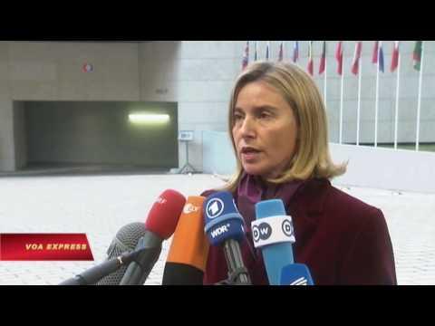 EU xem xét trừng phạt về vấn đề Syria, nhưng không chống Nga