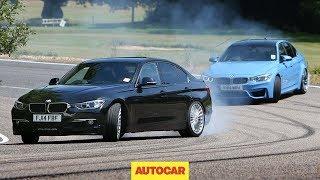 Petrol BMW M3 vs diesel Alpina D3 - fast saloon showdown