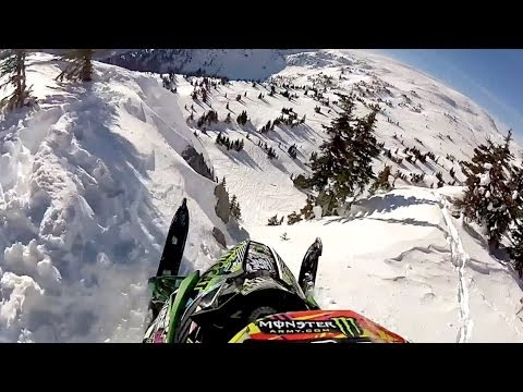 Check Out The Air This Snowmobile Gets
