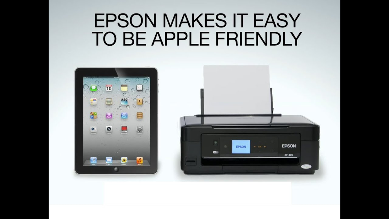 Epson + Apple. The perfect pair.