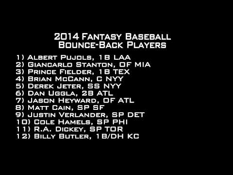 2014 Fantasy Baseball Draft Advice - Sleepers, Busts, Prospects