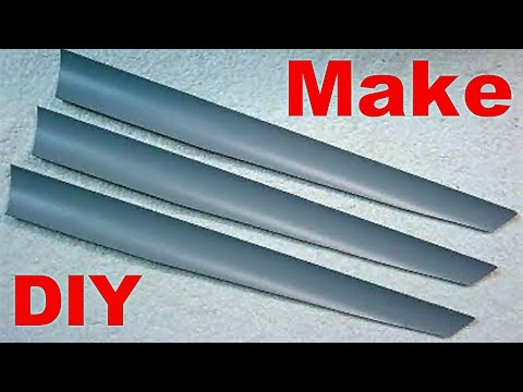 DIY Homemade PVC Wind Turbine Blades