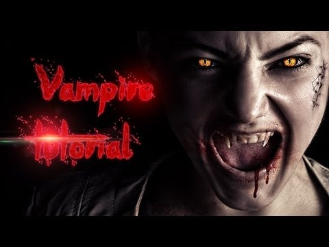 Vampire Effect - Advanced Photoshop Tutorial