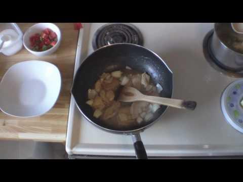 poulet aux noix de cajou (cashew nuts chiken)