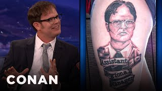 Rainn Wilson Appreciates Your Dwight Tattoos: Conan on TBS