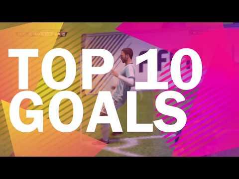 FIFA 18   TOP 10 BEST GOALS   PRO CLUBS