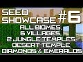 Minecraft Xbox 360 & PS3 : TU15 SEED - All Biomes, 6