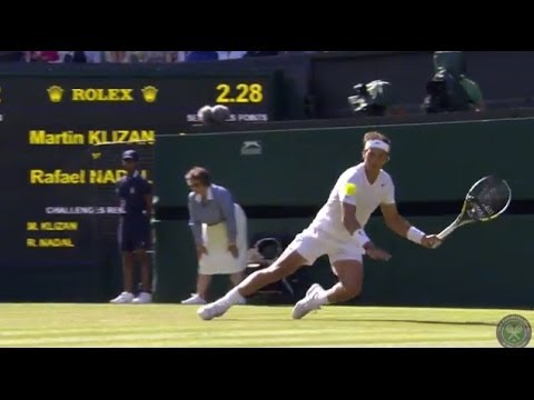 HSBC Play Of The Day: Rafael Nadal sensational winner - Wimbledon 2014
