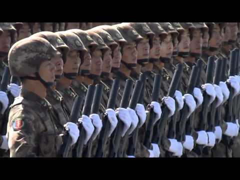 China Military Parade    PRC 60th Anniversary 720HD