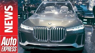 BMW X7 concept unveiled - will it turn heads or stomachs?. Auto Express.