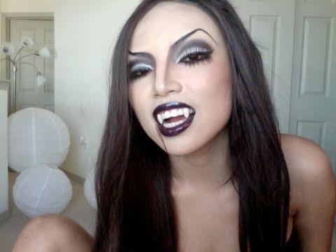 Sexy Vampire Princess Make-up - YouTube