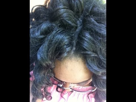 Crochet Braids Part : Crochet braids: Invisible part how-to - YouTube