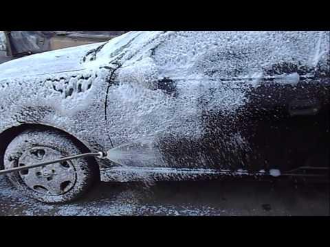 Espumadora para lavado de autos