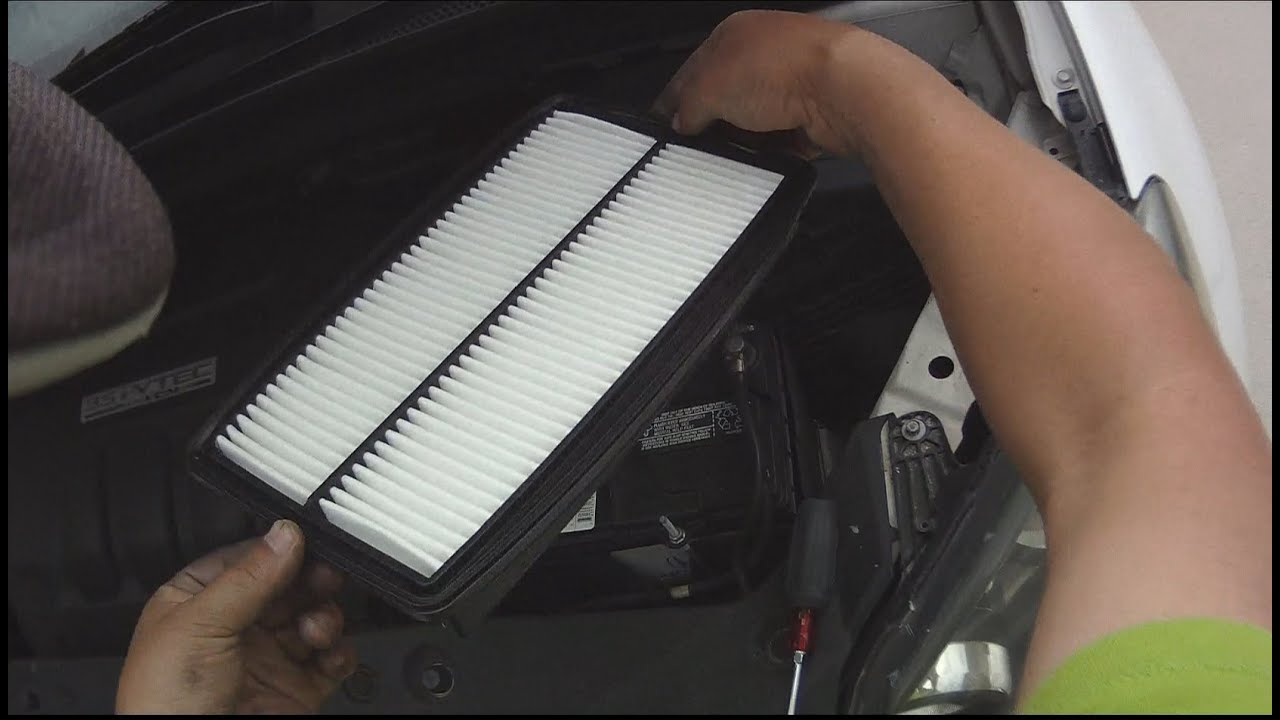 Service manual how to replace air filter in a 2006 hummer for 2009 honda odyssey cabin air filter