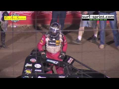 18th Annual Budweiser Oval Nationals 11-2-13 :: USAC National & USAC/CRA Sprint Cars
