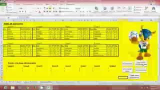 [Premium] Sistema Prode En Excel Para Mundial Brasil 2014