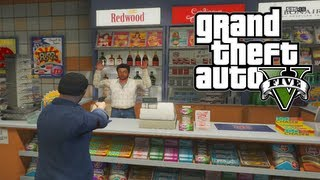 GTA 5: Quick & Easy Money How To Rob Stores And Gas
