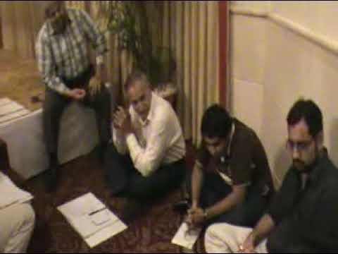 dr Moiz Hussain Workshop in