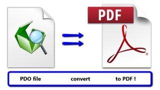 Convert Pepakura PDO File To Adobe PDF