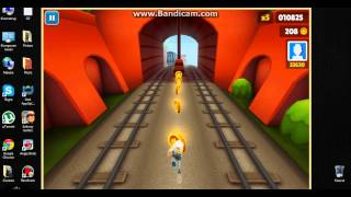 Subway Surfers For PC ( Windows 7,8 Only )