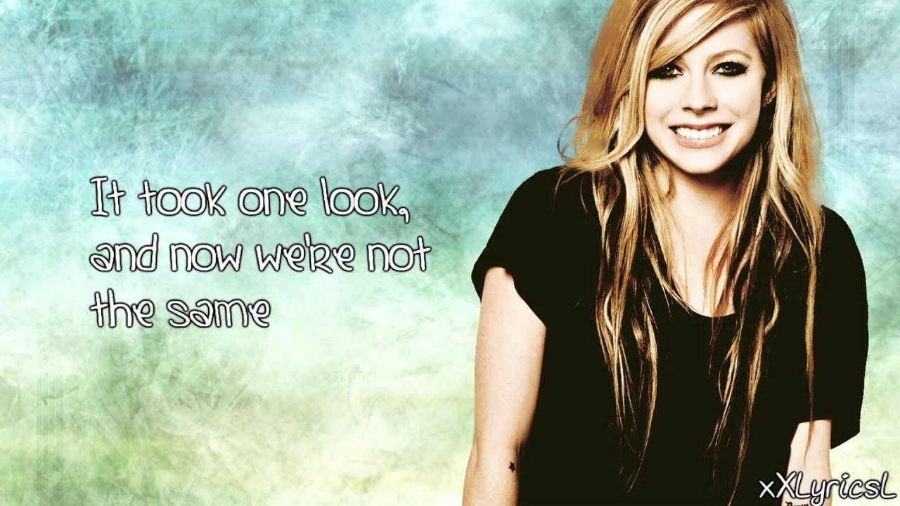Avril Lavigne - Smile ... Avril Lavigne Lyrics