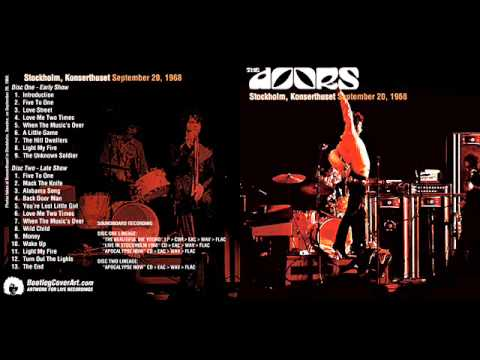 The Doors Stockholm, Konserthuset September 20 1968