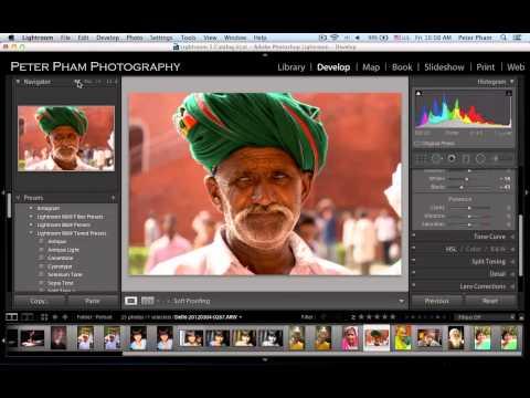 Học Lightroom - 049 Xử lý ảnh chân dung 6