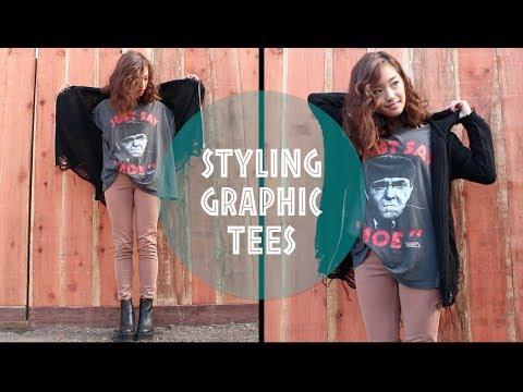 Styling Graphic T-Shirts